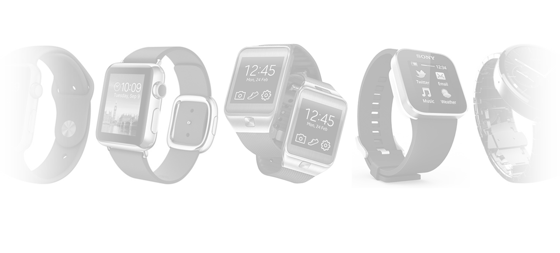 Smartwatch header image apple android wear tizen