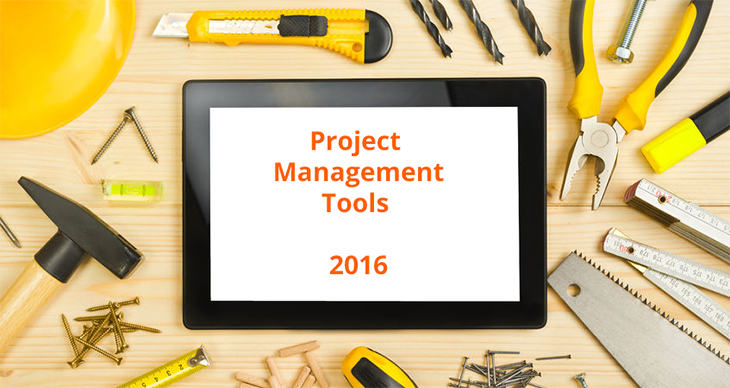Project management tools 2016